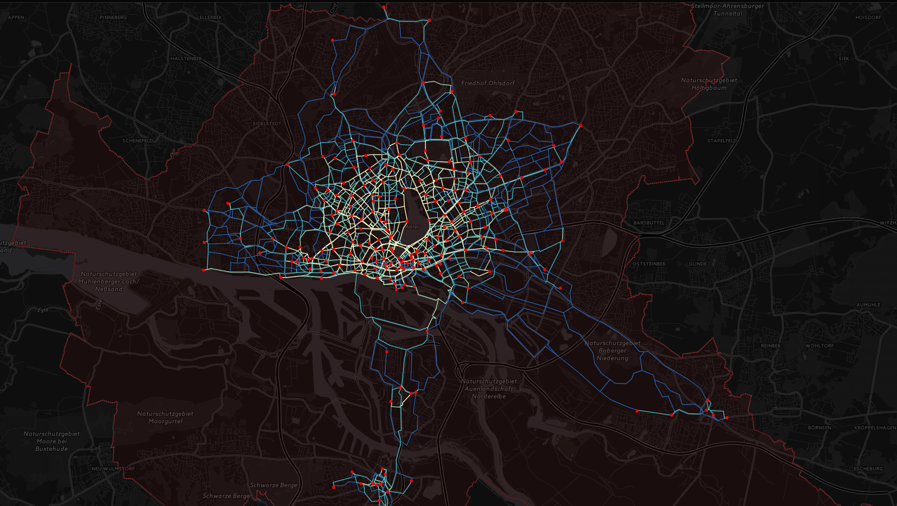 Bike Sharing in Hamburg · Alex Knows Data